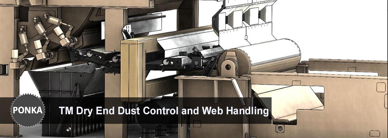 Ponka - TM Dry End Dust Control and Web Handling