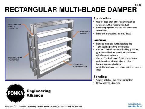 Dampers | Ponka Engineering Alliance